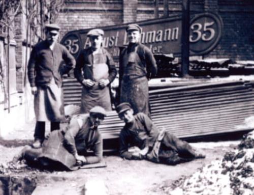 Mitarbeiterszene 1920er oder 1930er Jahren